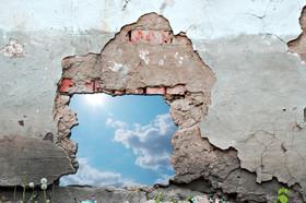 Hul i mur